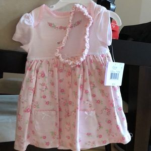 2 piece 9 month old baby girl dress set